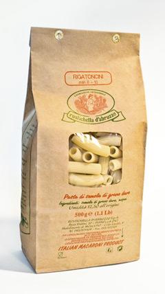 Rustichella d'Abruzzo, en av verdens beste produsenter av tørket pasta.