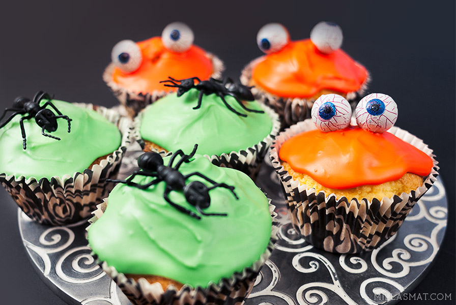 Klassiske allround-cupcakes