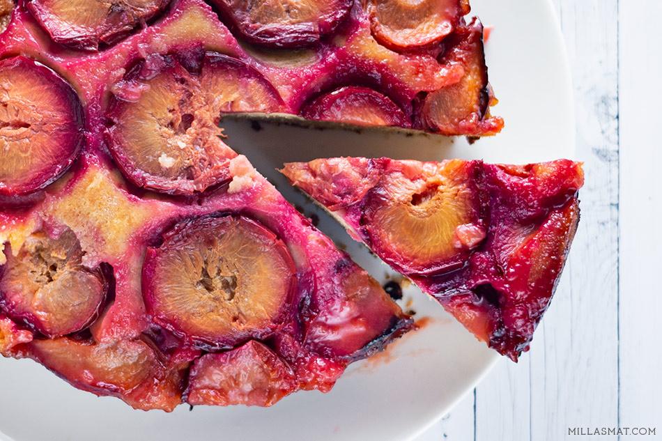 Amélies plommekake :: gâteau aux pruneaux