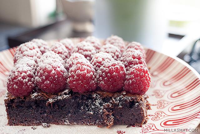 Brownies fra New York City Bakery