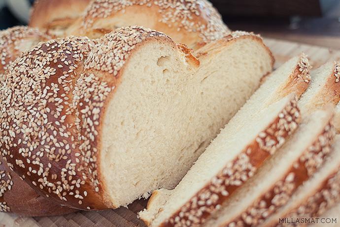 Challah :: tradisjonelt jødisk hvetebrød