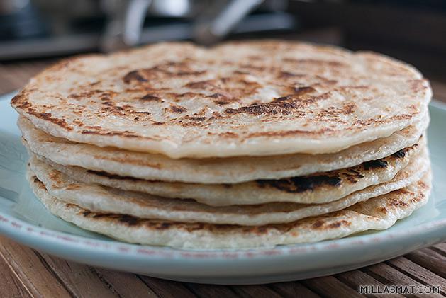 Chapati :: indisk hverdagsbrød