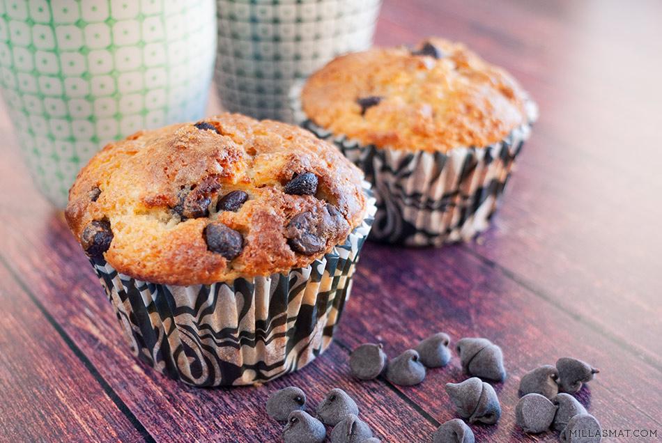 Chocolate chip cinnamon cupcakes