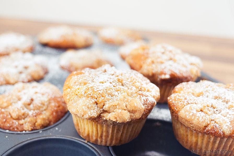 Drakes Coffee cupcakes
