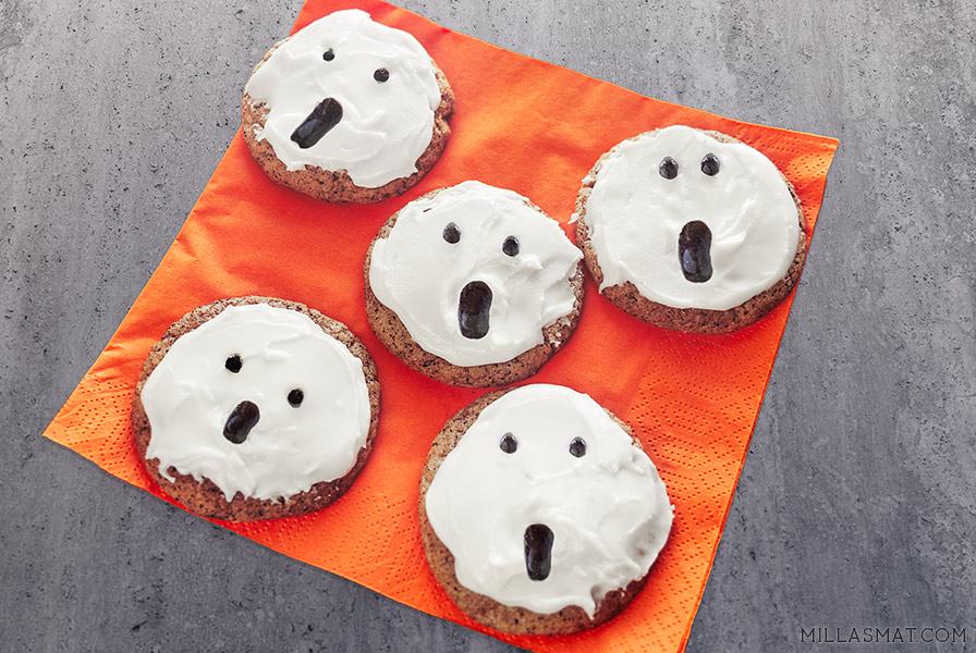 Halloween Spooky Snickerdoodles