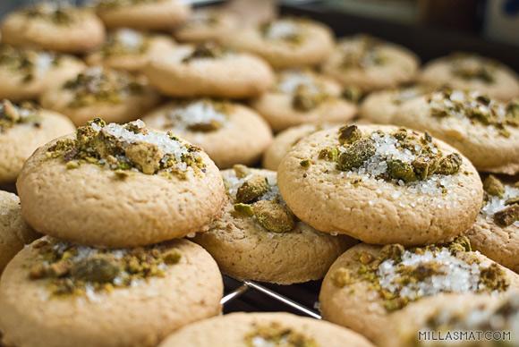 Jødiske skiver :: Ugiyot chema עוגיות חמאה