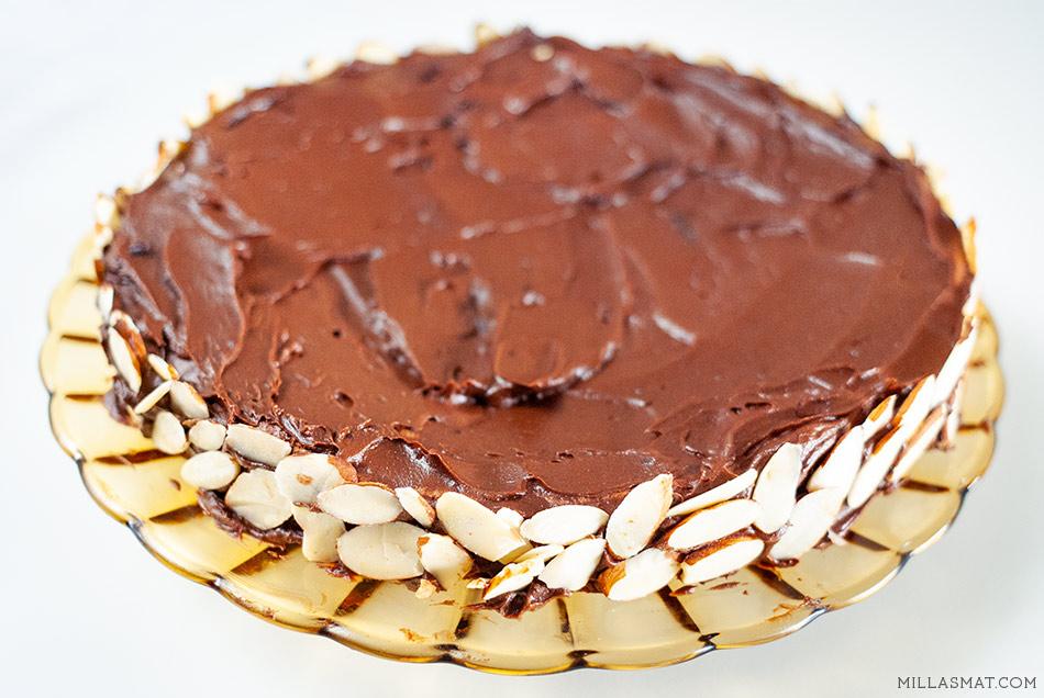 Julia Childs franske sjokoladekake