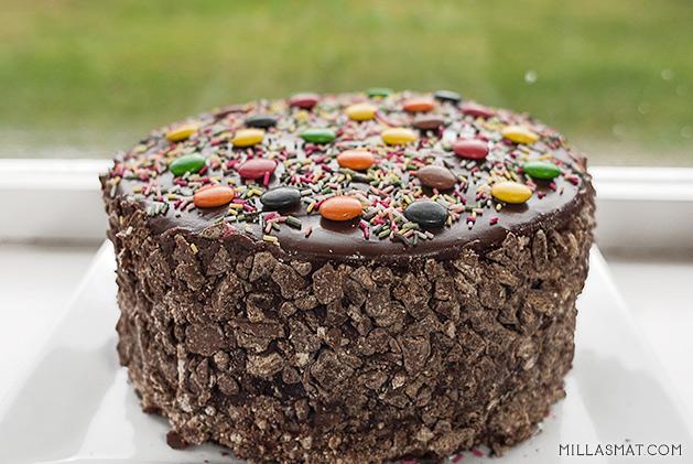 Den offisielle Kvikk Lunsj-kaken fra Freias kjøkken