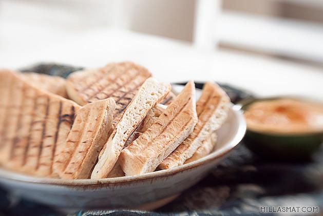 Marokkansk mykt flatbrød med sitron og etiopisk pepper