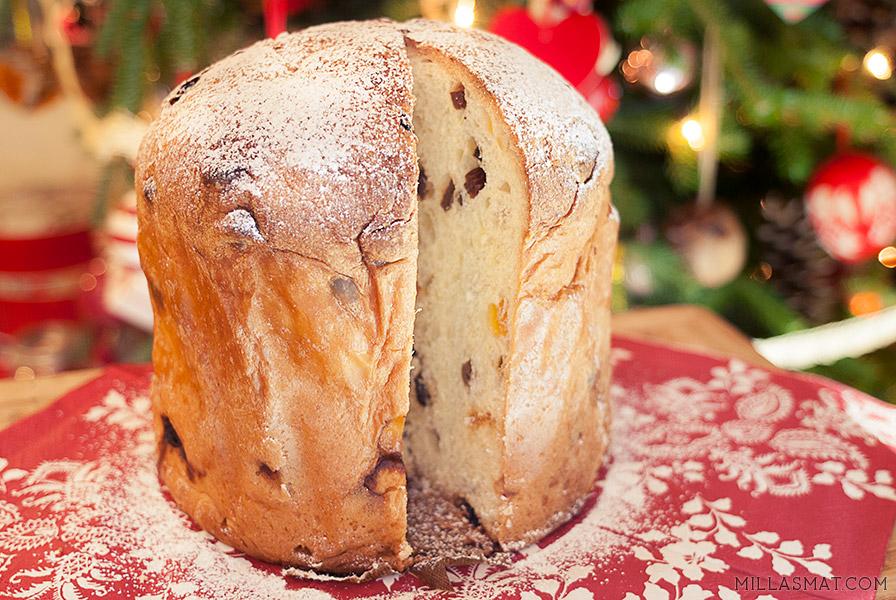 Panettone :: italiensk julebrød