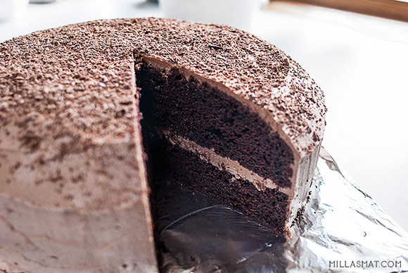 sjokolade-fudge-cake