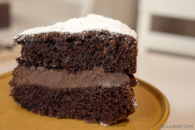 viktoriansk-sjokoladekake