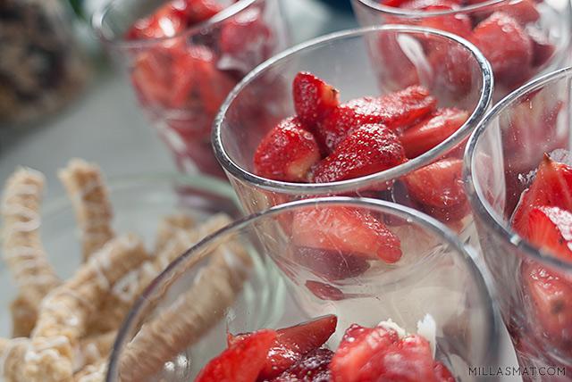 Balsamicomarinerte jordbær Mussini