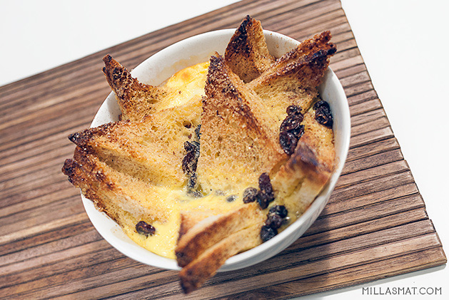 Bread and butterpudding
