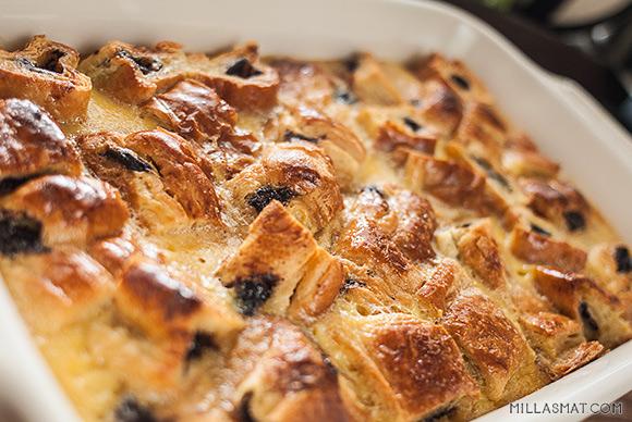 croissant-pudding