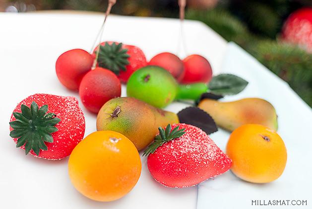marsipanfrukter
