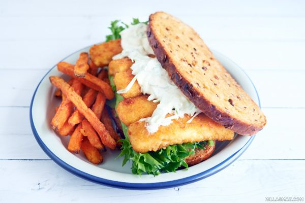 The Ultimate Fishfinger Sandwich :: engelsk fiskesmørbrød