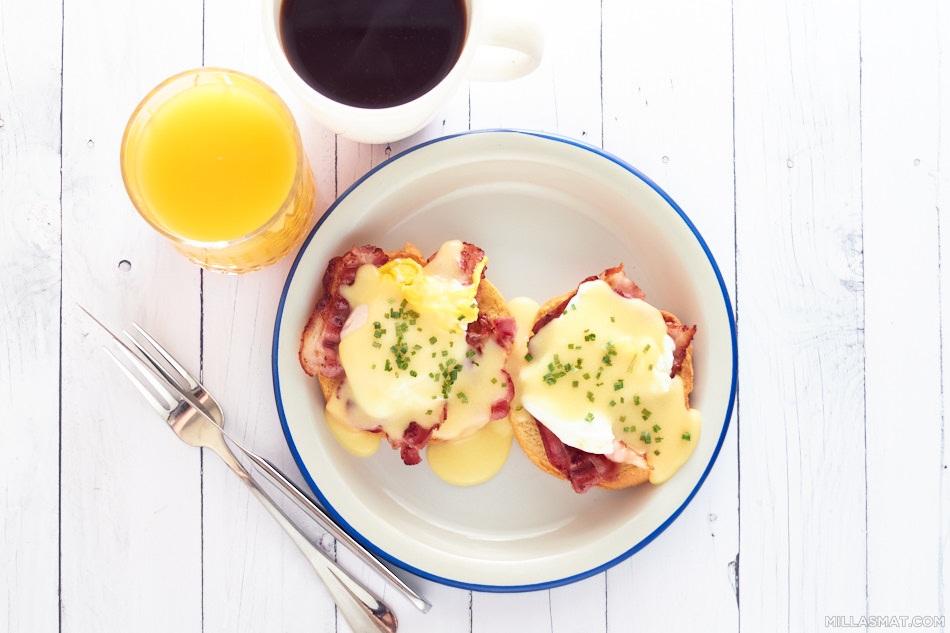 Eggs Benedict eller Eggs Florentine