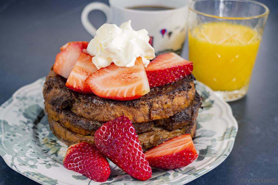 Hot Chocolate French Toast :: sjokolade til frokost er mulig