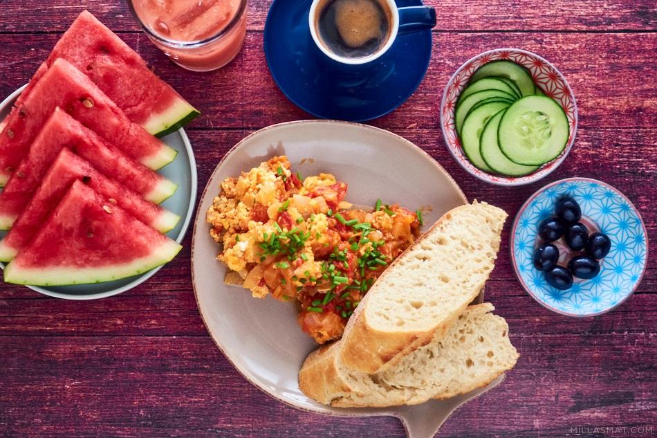 Menemen - tyrkisk frokost