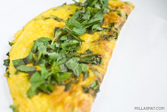 Omelett fra Korsika