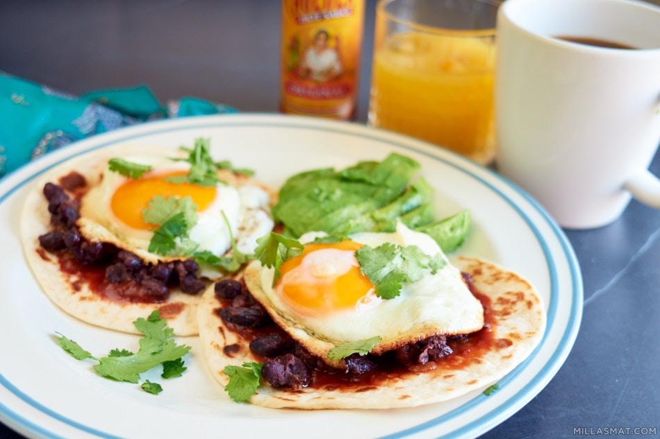 Ranch-style eggs versjon II