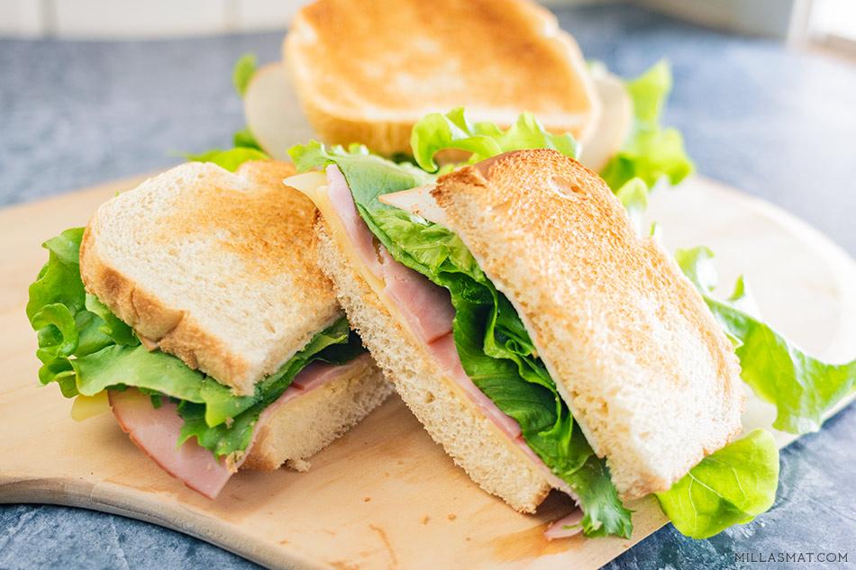 Sheldon Coopers vitenskapelig konstruerte sandwich