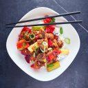 Kinesisk svin i sursøt saus