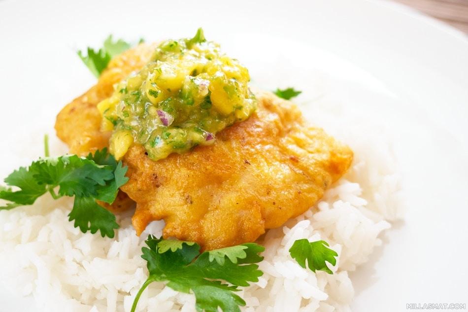 Amritsar crispyfish :: indisk sprø fisk