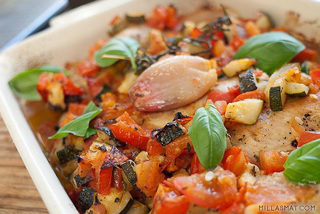 bakt-kylling-tomatragu