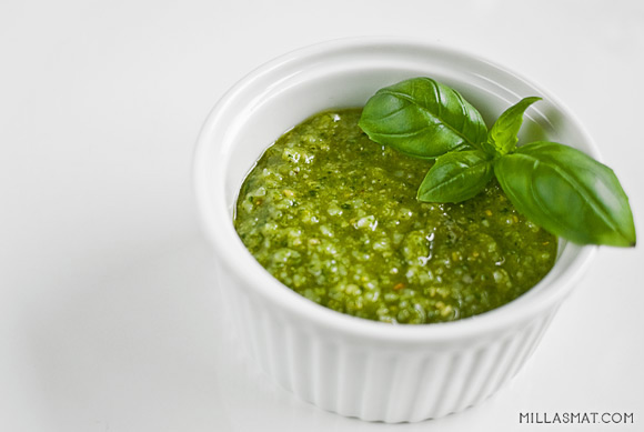 Pesto Genovese :: grønn pesto