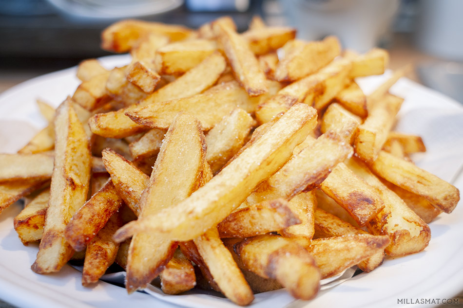 Belgiske pommes frites
