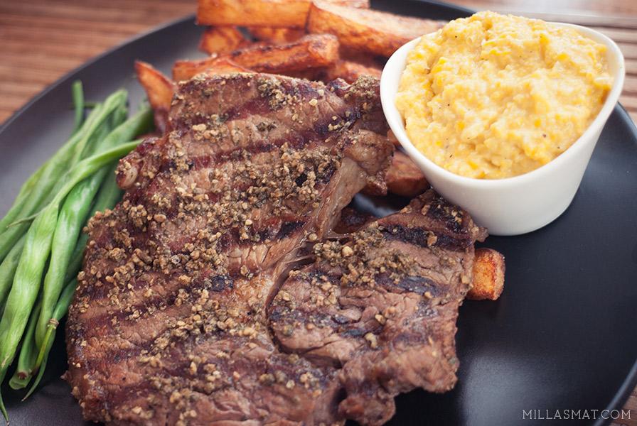 Steking og tilbredning av kjøtt