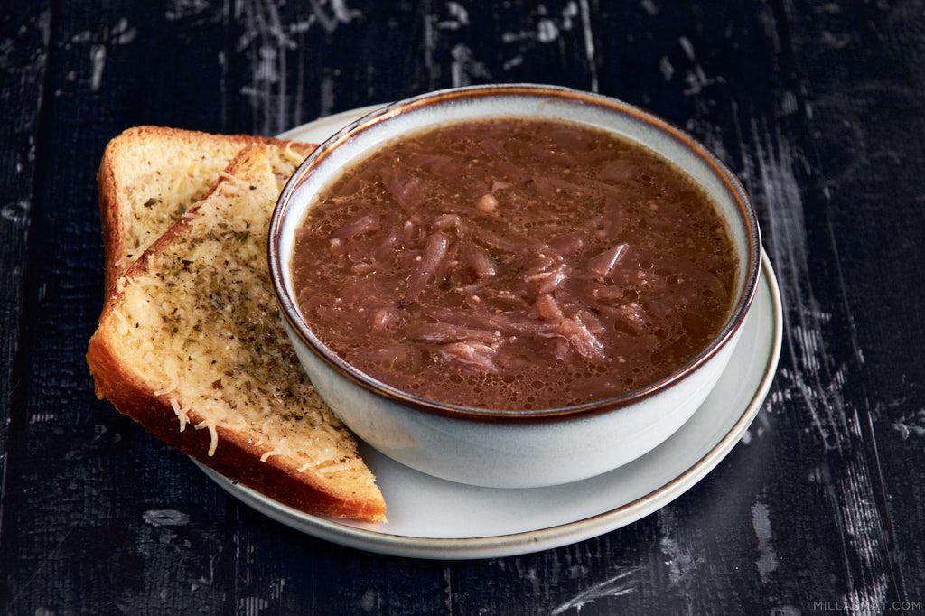 Carabaccia :: toscansk løksuppe