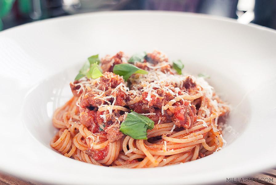 Chili-spaghetti med stjerneanis