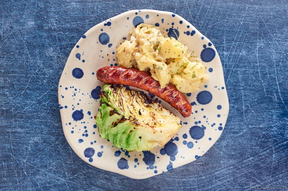 Dansk og dejlig kartoffelsalad