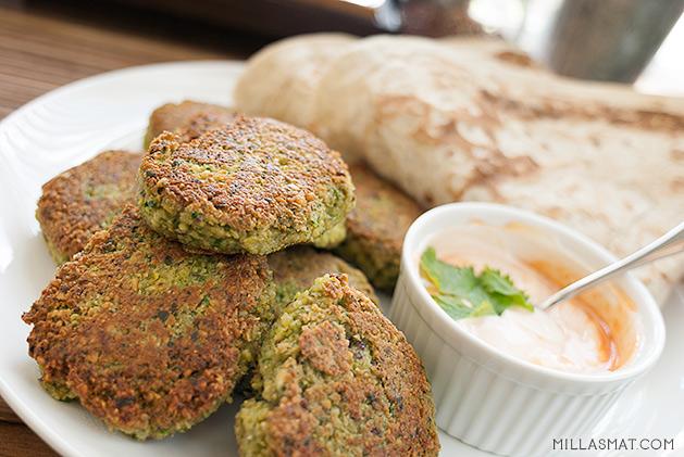Falafel med tahini fra Jordan
