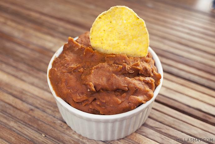 Frijoles fra Mexico :: kokte, stekte og moste bønner