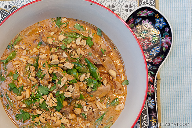 Gaeng Hung Lay :: thailandsk svinecurry