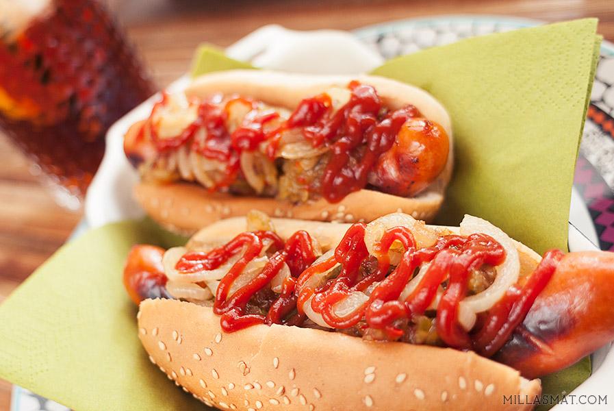 Gray's Papaya hotdogs