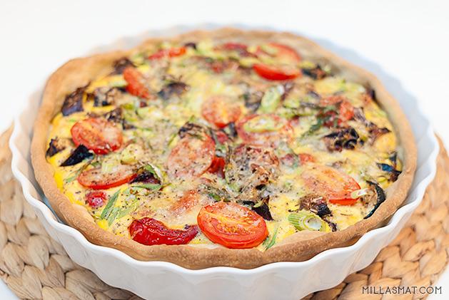 Grønnsakspai fra Provence