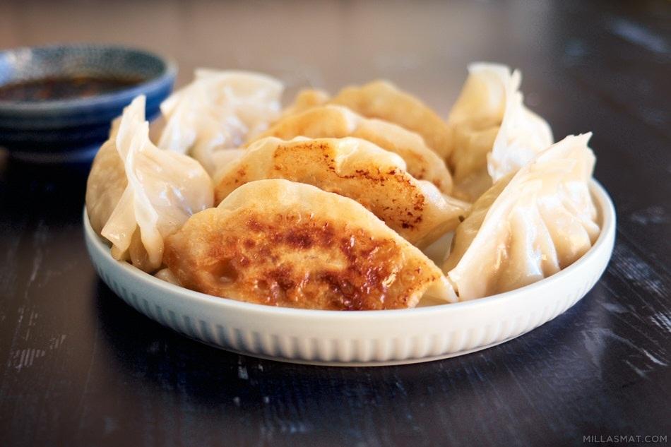 Yaki Gyoza :: japanske stekte dumplings