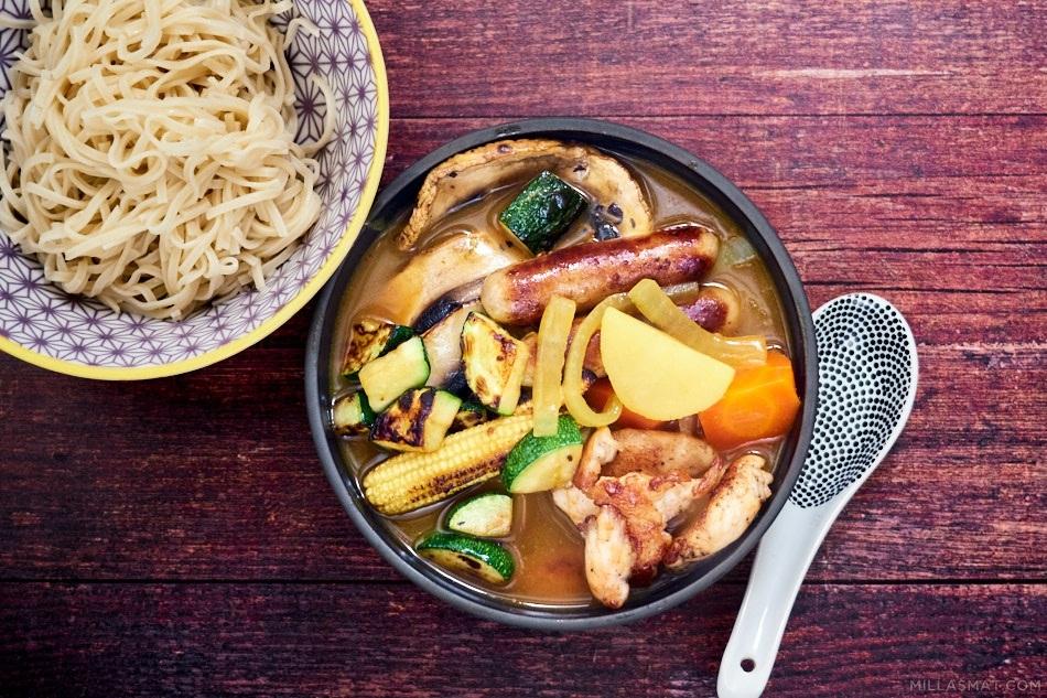 Hokkaido currysuppe