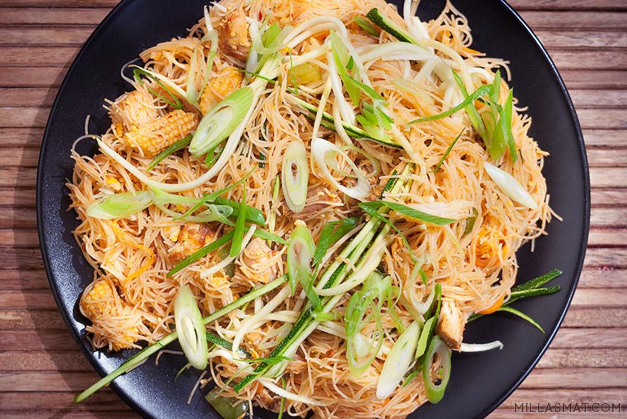 Hot Wok XO Chili Singapore Noodles