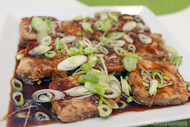 Hvit fisk i sterk & sursøt saus