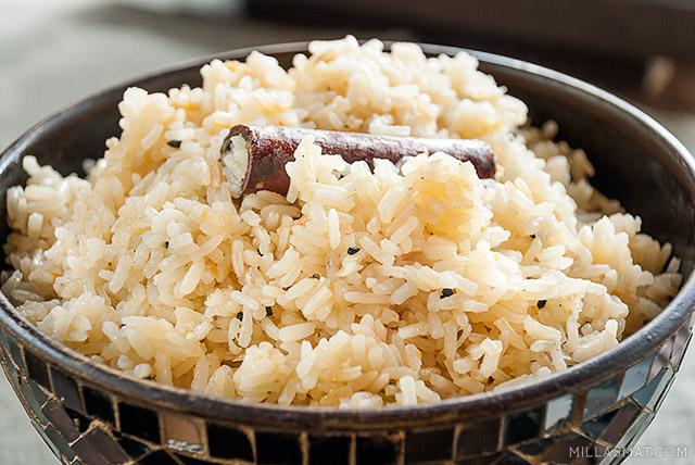 Indisk krydret ris