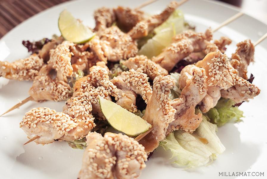 japansk-kylling-sesam