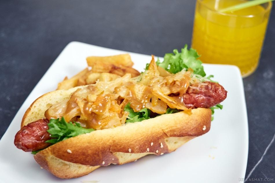 Kimchi hotdogs :: koreanske pølser i brød