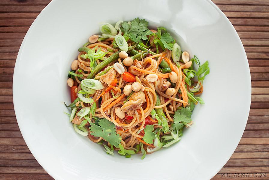 kinesisk-stekt-spaghetti