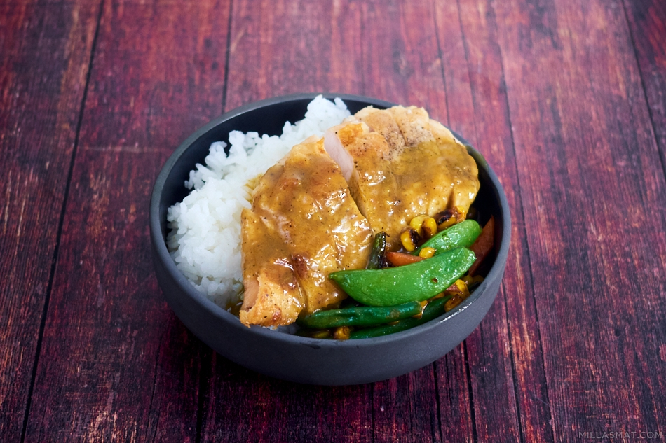 Kylling Katsu Curry